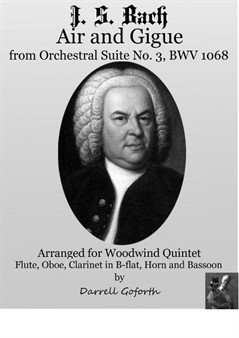 Bach: Air and Gigue from the Orchestral Suite No.3 in D Major for Woodwind Quintet